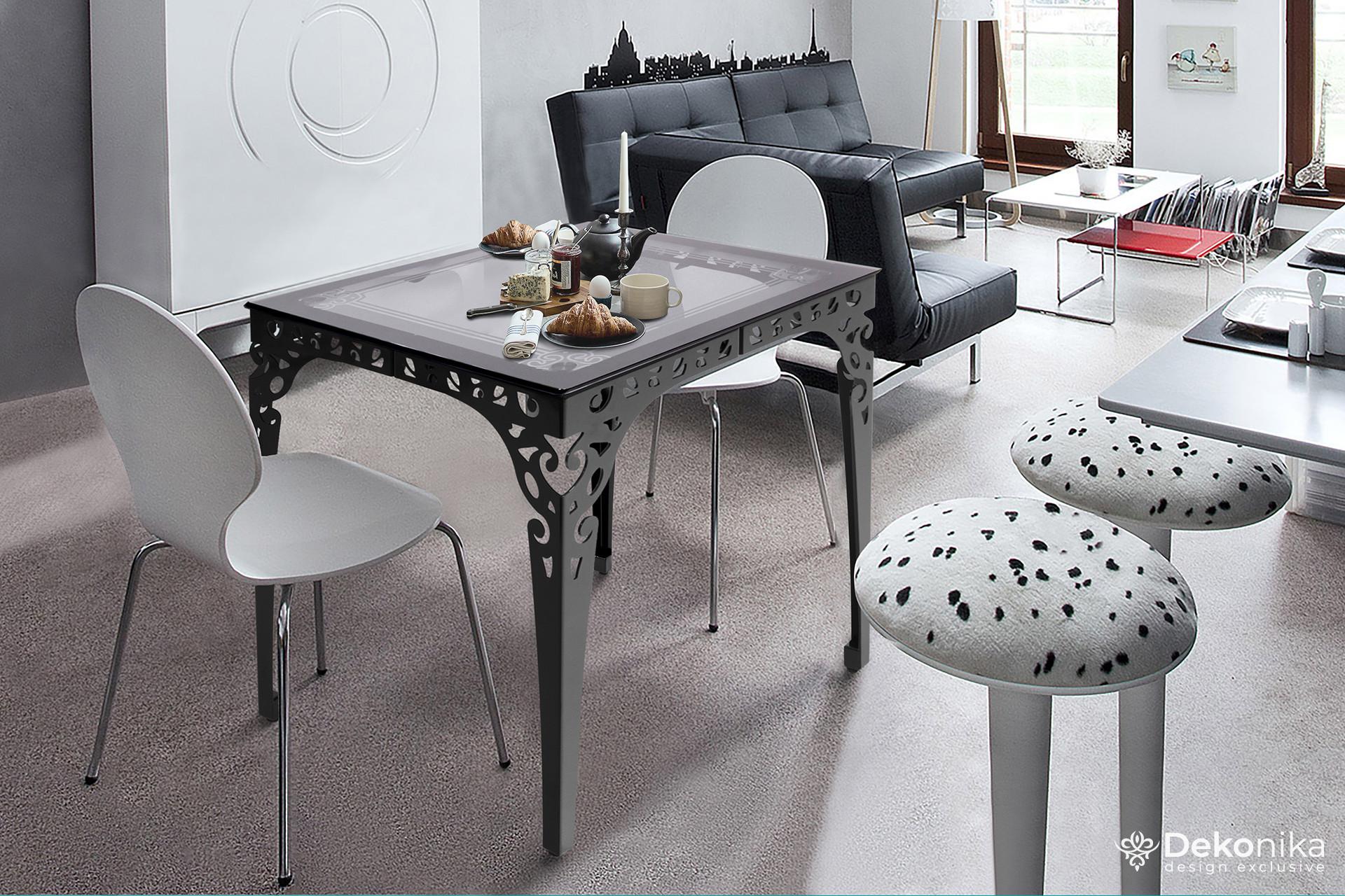 Эксклюзивные столы из стекла и металла!