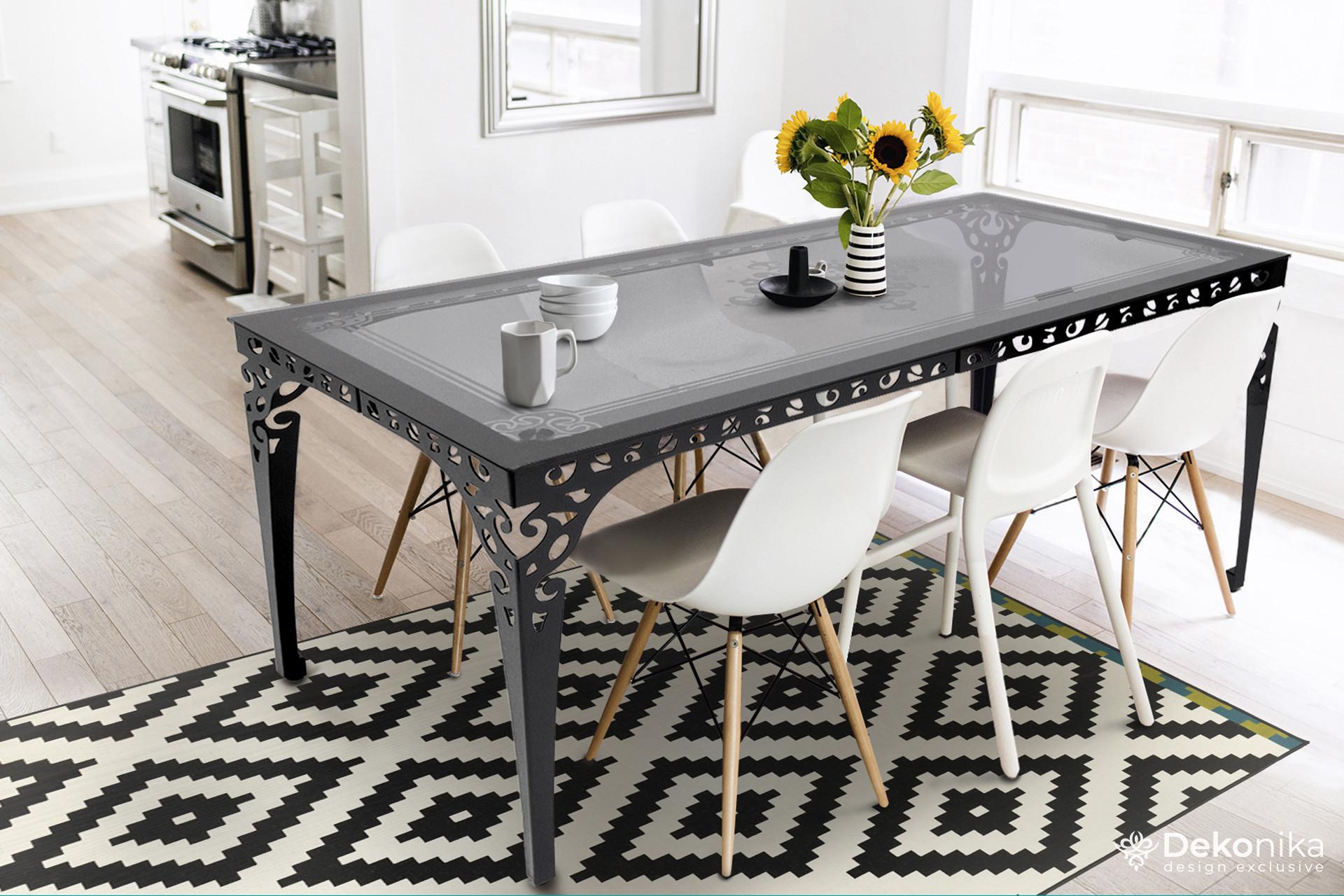 """Компания """"Деконика"""" - дизайнерские столы из стекла и металла!"""